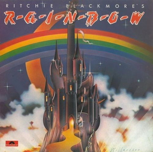 RAINBOW Ritchie Blackmore's Rainbow Vinyl Record LP Oyster